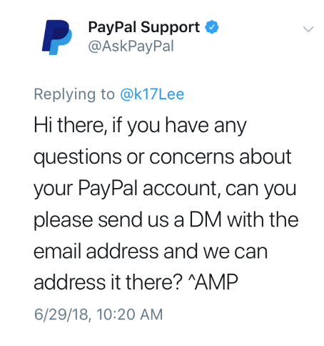 PayPal - Customer Service